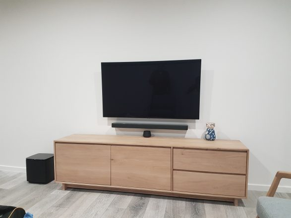 TV and Soundbar Wall Mounted in Geelong